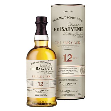 Balvenie triple cask 12-arig single malt