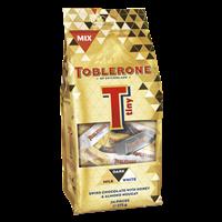 TOBLERONE MILK, DARK, WHITE