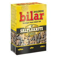AHLGRENS BILAR SALTY LICORICE 390 G
