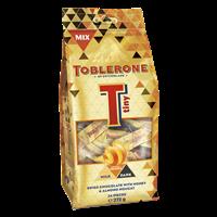 TOBLERONE TINY MIX BAG MILK, GINGERY ORANGE, DARK